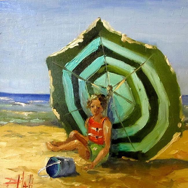 Art: Summer Break by Artist Delilah Smith