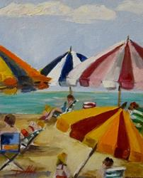Art: Beach Party by Artist Delilah Smith