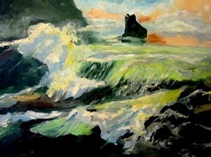 Detail Image for art The Breaking Waves