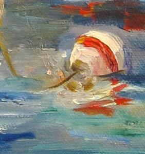 Detail Image for art Sail Boat and Buoy