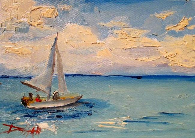 Art: Sailing the Big Blue by Artist Delilah Smith