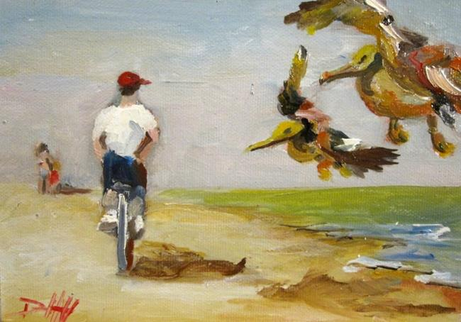 Art: Beach Ride-sold by Artist Delilah Smith