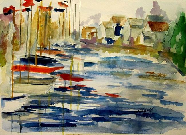 Art: Sea View- SOLD by Artist Delilah Smith