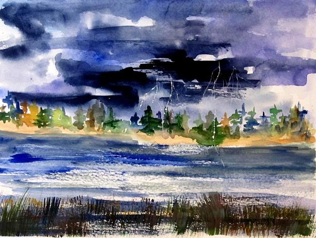 Art: Stormy Skies by Artist Delilah Smith