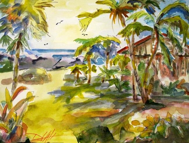 Art: Tropical Sunshine by Artist Delilah Smith