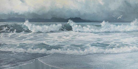Art: Approaching Storm by Artist Carol Thompson