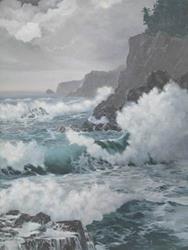 Art: November Sea by Artist Carol Thompson