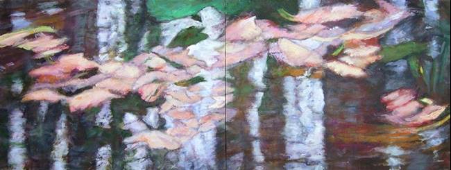 Art: Sensuous Reflections (sold) by Artist Virginia Ann Zuelsdorf