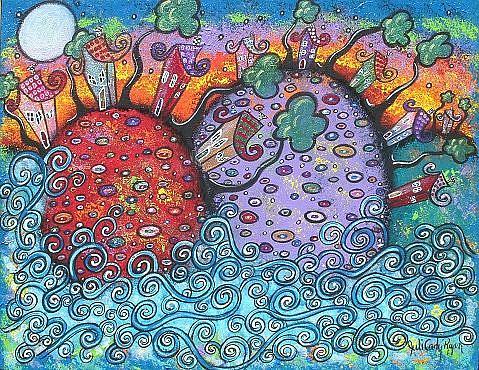 Art: Seaside Harmony by Artist Juli Cady Ryan