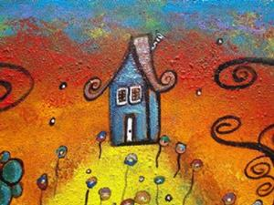 Detail Image for art A Cottage On The Hill