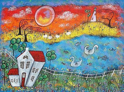 Art: A Whimsical View by Artist Juli Cady Ryan