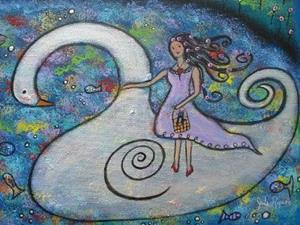 Detail Image for art My Swan Dream