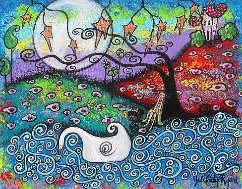 Art: Midnight Contemplation by Artist Juli Cady Ryan