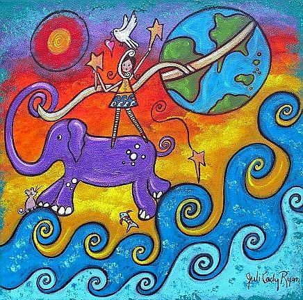 Art: Shaping Her World by Artist Juli Cady Ryan
