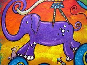Detail Image for art Shaping Her World