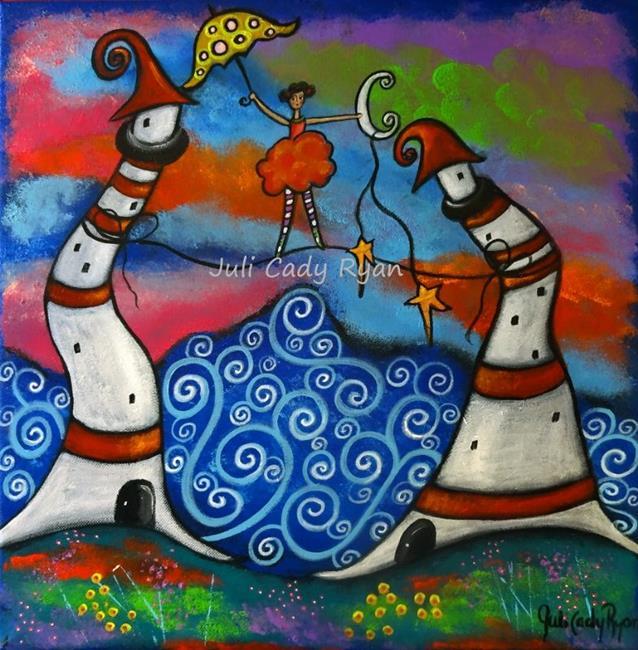 Art: A Guiding Light by Artist Juli Cady Ryan