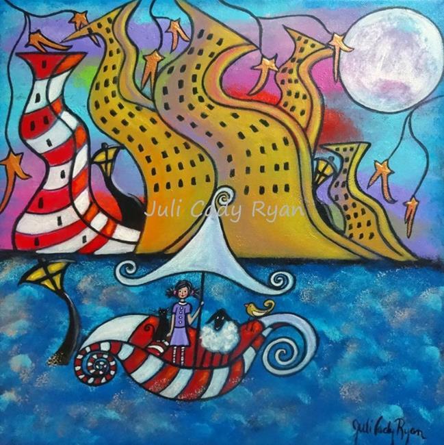 Art: Finding My Way Back Home II by Artist Juli Cady Ryan
