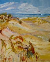 Art: Beach Grass by Artist Delilah Smith