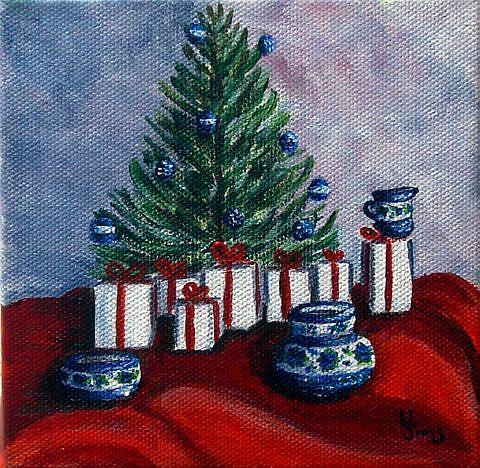 Art: Polish Christmas II by Artist Heather Sims