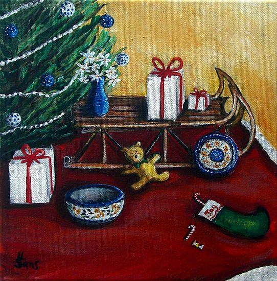 Art: Polish Christmas III© by Artist Heather Sims