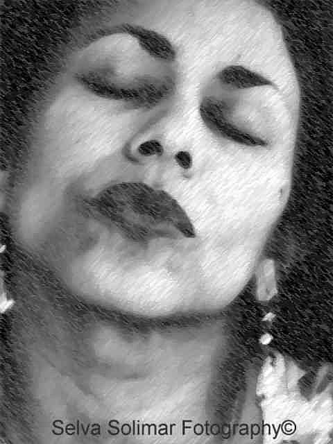 Art: ...meditation AND acceptance... by Artist Selva  Solimar