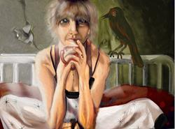 Art: Harbringer: Voices of Doom by Artist Alma Lee
