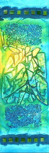 Art: Impressions: Clallam Bay ~ 1 by Artist Christine Wasankari