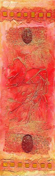 Art: Impressions ~ Clallam Bay 2 by Artist Christine Wasankari
