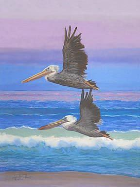 Art: First Flight by Artist Carol Thompson