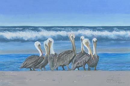 Art: Seaview Seven by Artist Carol Thompson