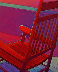 Detail Image for art The Red Chair