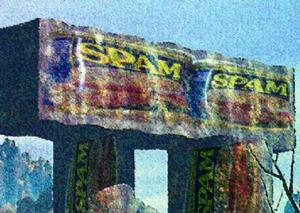 Detail Image for art Alien Spamhenge