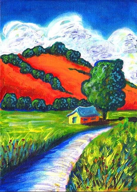 Art: Del Norte by Artist Christine Wasankari