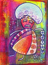 Art: Mushroom by Artist Christine Wasankari