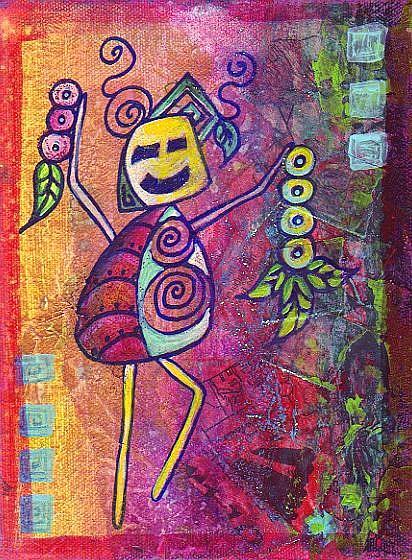 Art: Seasons by Artist Christine Wasankari