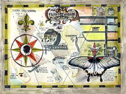 Art: Life Map, Alma Lee #1 by Artist Alma Lee