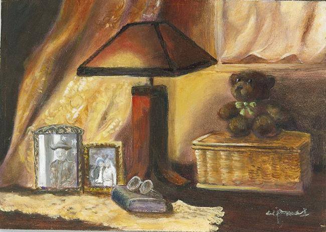 Art: Treasured Memories by Artist Shirley James