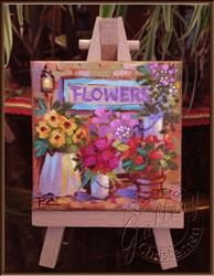 Art: Flower Shoppe by Artist Patricia  Lee Christensen