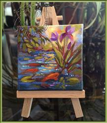Art: Koi Pond by Artist Patricia  Lee Christensen