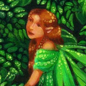 Detail Image for art Green Dream ACEO