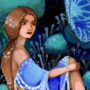 Detail Image for art Blue Mood ACEO