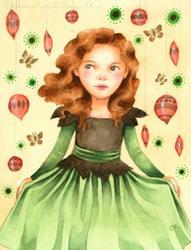 Art: Christmas Party  by Artist Carmen Medlin