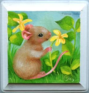 Detail Image for art Picking Blossoms