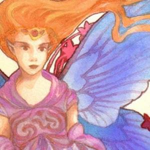 Detail Image for art Flame Goddess ACEO