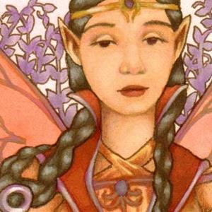 Detail Image for art Faery Swordswoman ACEO