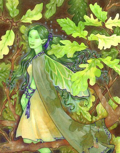 Art: Green Girl (Ripped 06) by Artist Carmen Medlin
