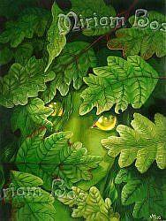 Detail Image for art Green Girl (Ripped 06)