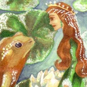 Detail Image for art Emerald's One True Love ACEO