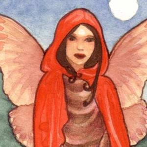 Detail Image for art Little Red ACEO