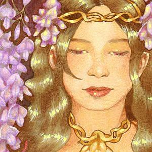 Detail Image for art Wisteria Wine